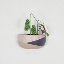 COLOUR BLOCK SHORT WALL PLANTER | POT