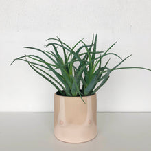group partner nude boob planter with light skin tone