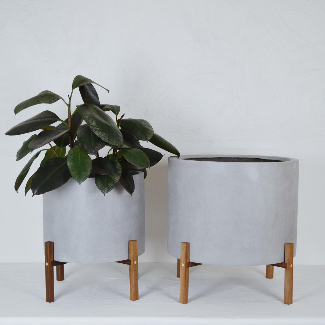 COMMON HOUSE STUDIO LOW CYLINDER PLANT STAND X KELLY BUILT