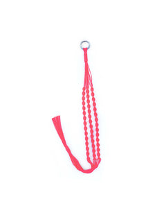 Carrie Label nylon plant hanger in Neon Pink