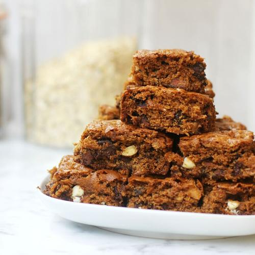 Chocolate Oat Picnic Bars
