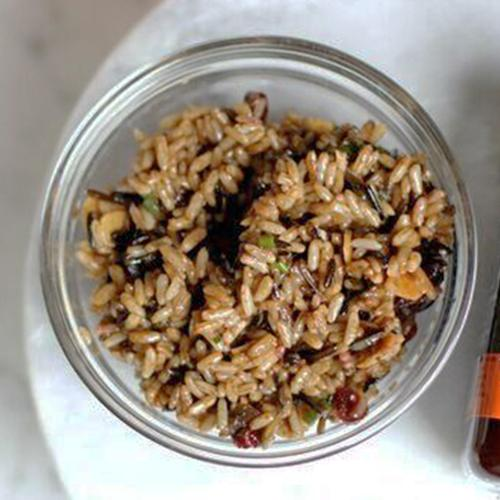 Wild Rice Salad with Manuka Honey Dressing