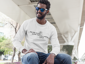The Lazy Sword Unisex Long Sleeve T-Shirt - The Poetic Quill