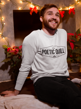 Load image into Gallery viewer, The Poetic Quill Official Unisex Sweatshirt - The Poetic Quill