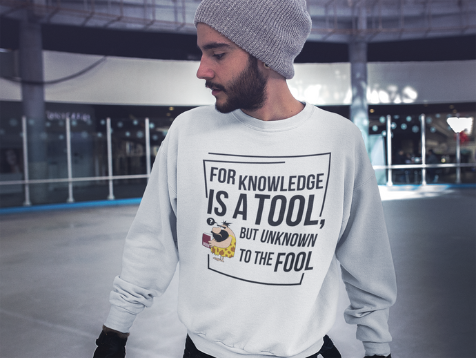 Tool of Knowledge Unisex Sweatshirt - The Poetic Quill