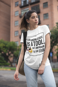 Tool of Knowledge Unisex T-Shirt