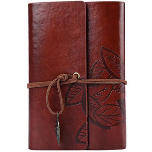 The Classical Poetic Quill Leather Journal