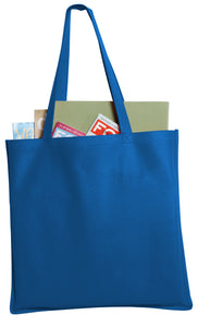 Port Authority® Polypropylene Standard Grocery Tote - Lucky Dog Custom Creations