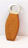 Laserable Cork Bottle Opener with Magnet - Lucky Dog Custom Creations
