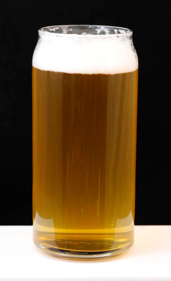 Can Shaped Beer Glass - Lucky Dog Custom Creations