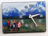 "Unisub 5 1/2"" x 8"" Offset Clock - Lucky Dog Custom Creations"
