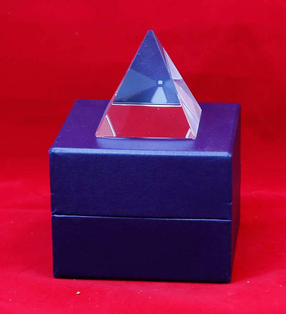 Crystal Pyramid - Lucky Dog Custom Creations
