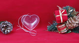Heart Crystal Ornament - Lucky Dog Custom Creations