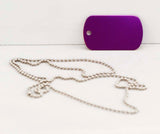 Laserable Anodized Dog Tags - Lucky Dog Custom Creations