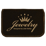 Laserable Leatherette Flexible Business Card Holder - Lucky Dog Custom Creations