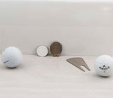 Hat Clip with Sublimatable Golf Ball Marker - Lucky Dog Custom Creations