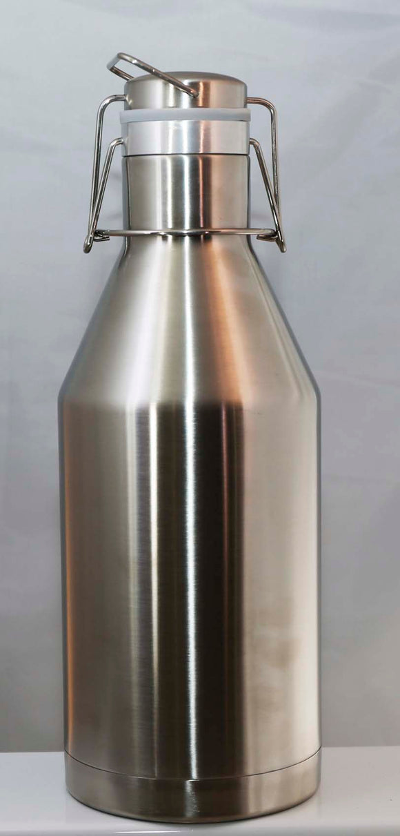 Polar Camel 64 oz Stainless Steel Growler - Lucky Dog Custom Creations