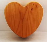 Maple Heart Keepsake Box - Lucky Dog Custom Creations