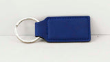 "2 3/4"" x 1 1/4"" Laserable Leatherette Rectangle Keychain - Lucky Dog Custom Creations"