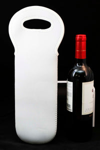 Neoprene Wine Tote - Lucky Dog Custom Creations