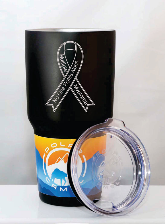 Polar Camel 30oz Tumbler with Clear Lid - Lucky Dog Custom Creations