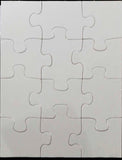 12-Piece Rectangle Cardboard Puzzle - Lucky Dog Custom Creations