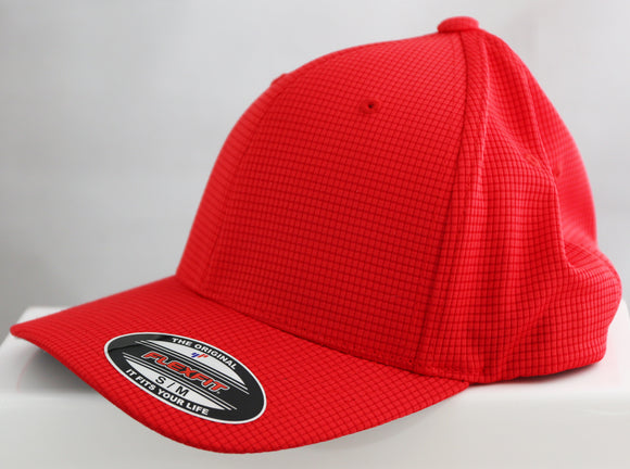 SPORT-TEK® FLEXFIT® Grid Texture Cap - Lucky Dog Custom Creations