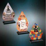 Diamond Impress, Acrylic Award - Lucky Dog Custom Creations