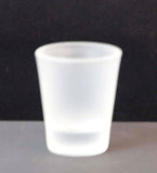 Frosted 1.5oz Shot Glass - Lucky Dog Custom Creations