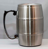17 oz. Stainless Steel Barrel Mug - Lucky Dog Custom Creations