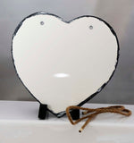 Heart Shaped Hanging Stone - Lucky Dog Custom Creations