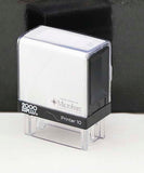 "Printer 10 3/8"" x 1 1/16"" Self Inking Rubber Stamp - Lucky Dog Custom Creations"