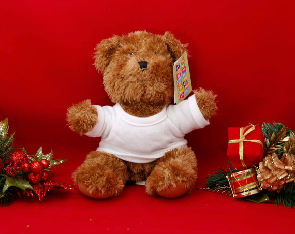 Plush Brown Bear - Lucky Dog Custom Creations