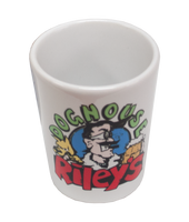White 2oz Shot Glass, Dye Sublimatable - Lucky Dog Custom Creations