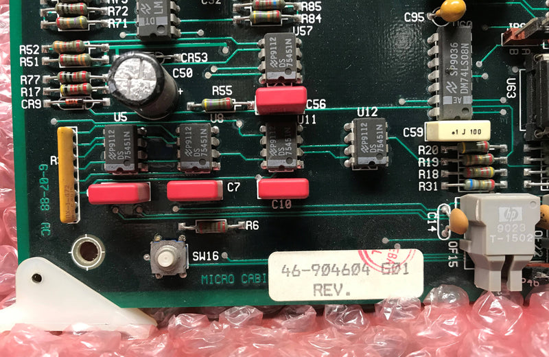 Circuit Board (46-904604 G01) GE