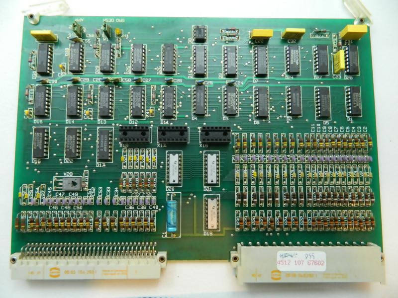 X-ray Board W155 (4512 107 67602) Philips