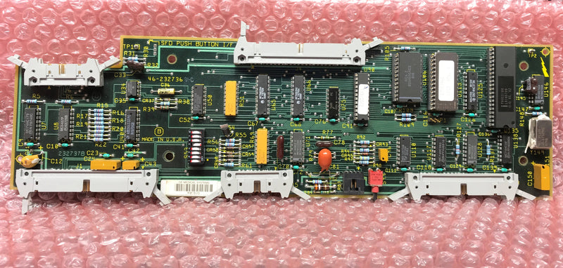 SFD Push Button I/F Board (46-232736 G1-D) GE