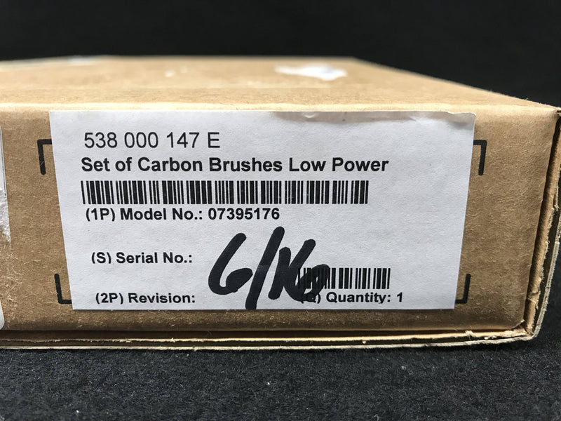 Carbon Brush (Set) Low Power (07395176) Siemens