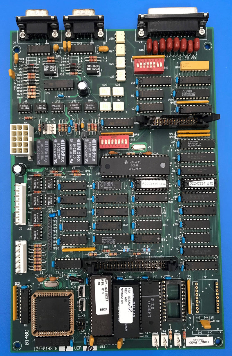DCTM Console Board (124-0148 G1 Ver10) Gendex/DEl Medical