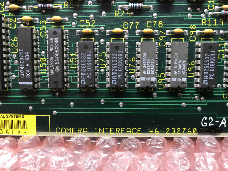 Camera Interface (46-232760 G2-A) GE
