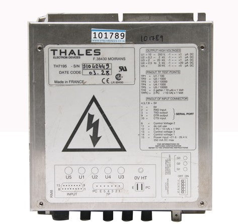 Thales Image Intensifier High Voltage Power Supply (TH-7195)