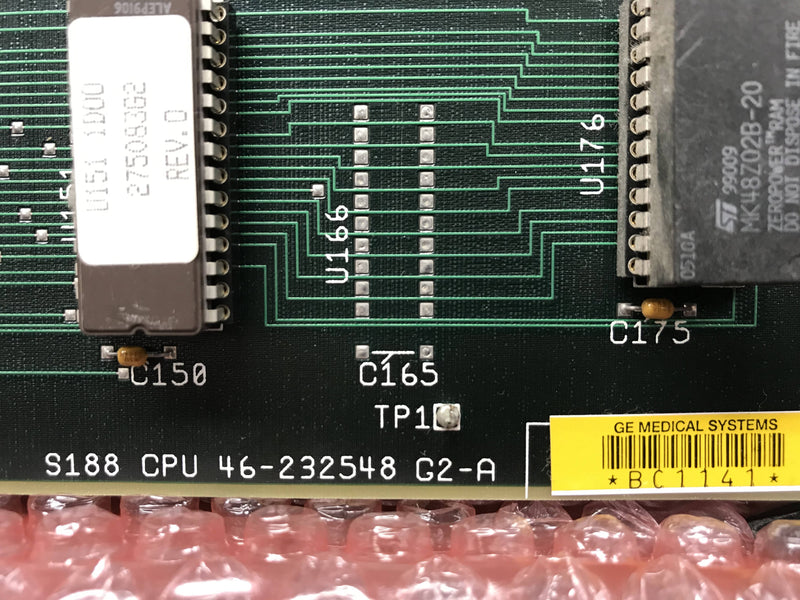 S188 CPU Board (46-232548 G2-A) GE