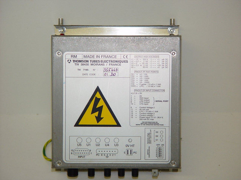 Components - OEC-9600 IMAGE INTENSIFIER POWER SUPPLY TH7195-3 (00-901180-01)