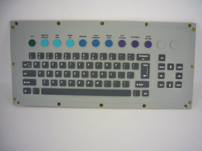 Components - OEC-9600 KEYBOARD QWERTY (00-900641-01)