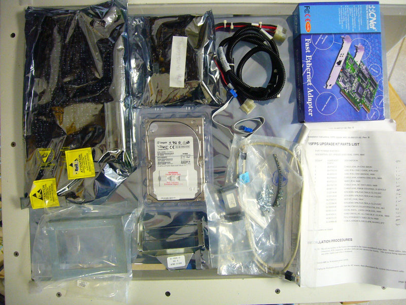 Components - OEC-9800 VASCULAR KIT, UPGRADE, HARD DISK 15FPS CINE (00-881208-01)