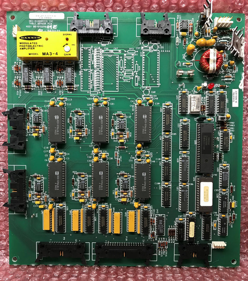 Table Sensor PCB (00-872270-04) OEC UROVIEW 2600
