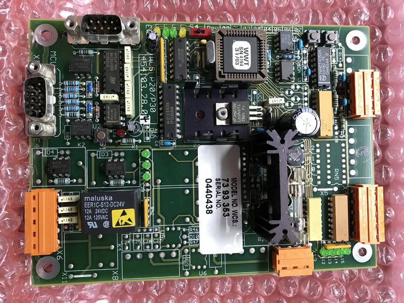 WCS Regulation & Control Board (73 93 353 (P20/P30 454103.28.04) Siemens