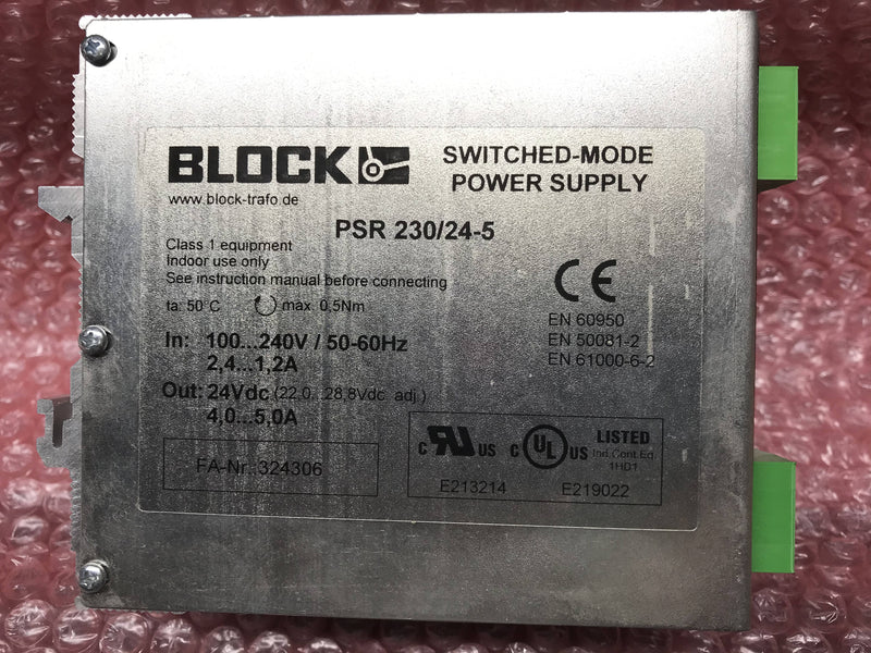 Block Trafo Switched Power Supply (PSR 230/24-5) Philips Easy Diagnost