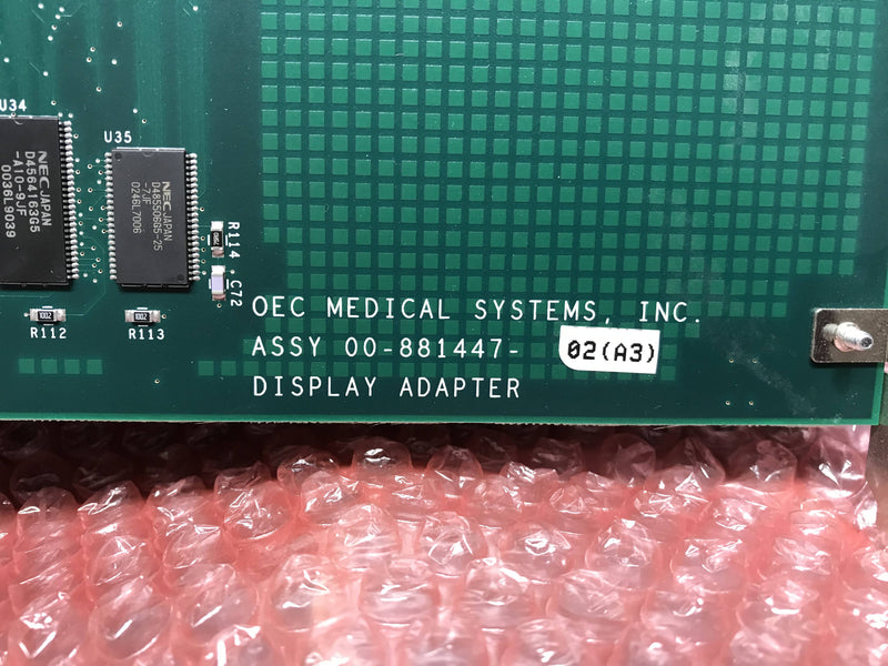 Display Adapter (00-881477-02-A3) OEC 9800
