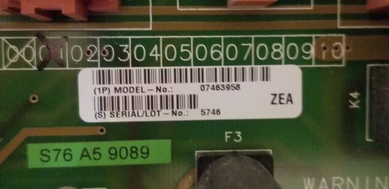 Siemens D160 E1 ON/OFF CIRCUIT BOARD (7463958)